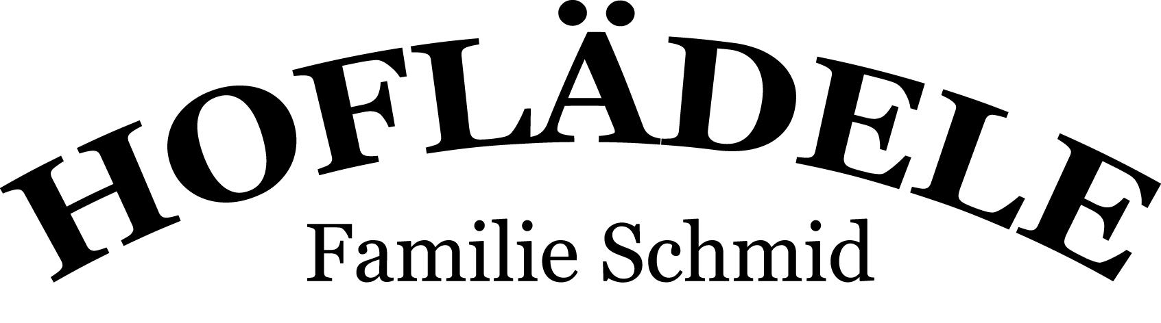Hoflädele Schmid Logo