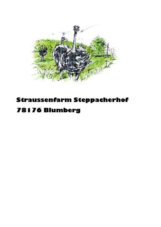 Straußenfarm Steppacher Hof Logo